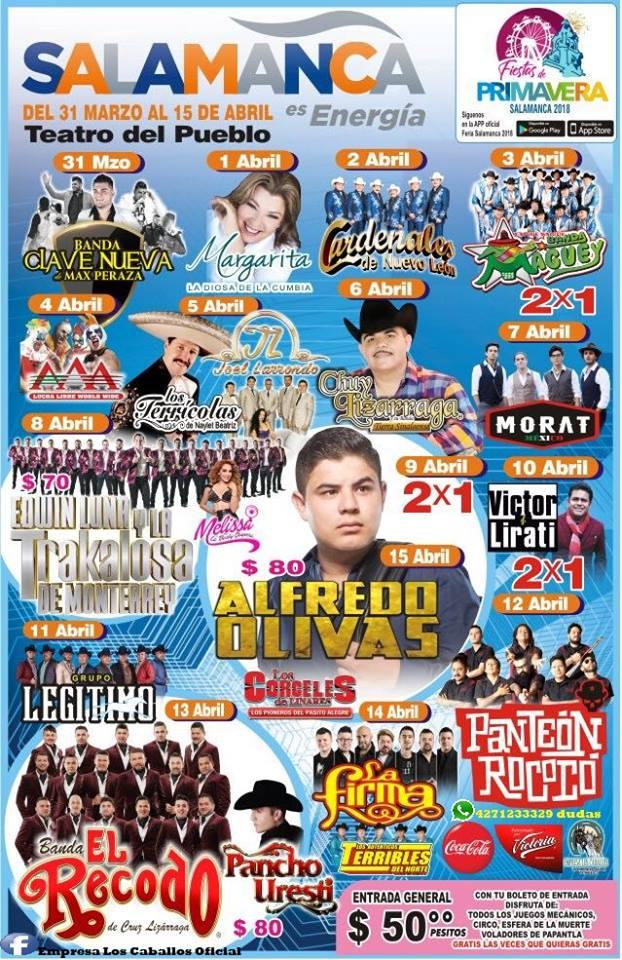 Cartel Teatro del Pueblo Feria de Salamanca 2018