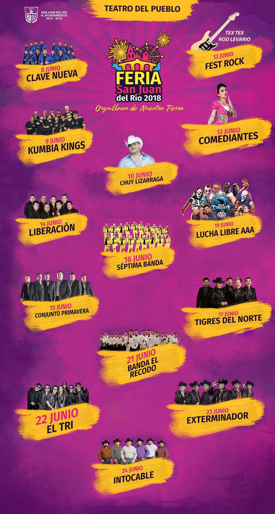 Teatro del Pueblo Feria San Juan del Rio 2018