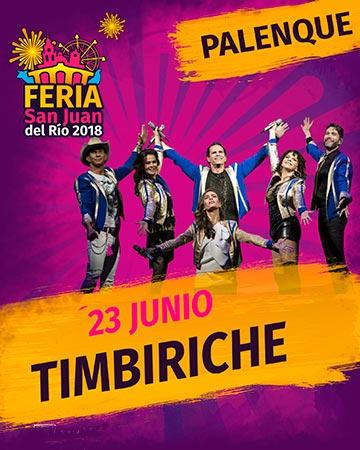 Timbiriche en la Feria San Juan del Rio 2018
