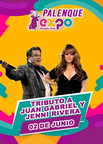 Tributo a Juan Gabriel y Jenni Rivera en Expo Obregon