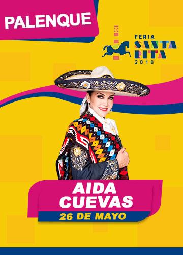 Aida Cuevas en el Palenque Feria Santa Rita 2018