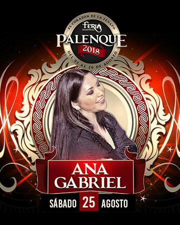 Ana Gabriel en el Palenque FENAPO 2018