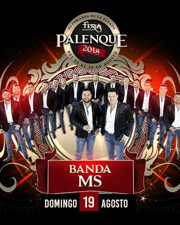 Banda MS en el Palenque FENAPO 2018
