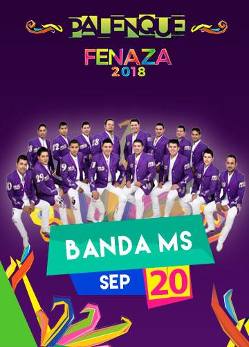 Banda MS en el Palenque FENAZA 2018