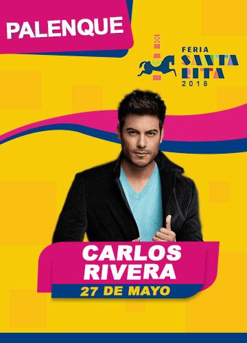 Carlos Rivera en el Palenque Feria Santa Rita 2018