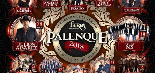 Cartelera Palenque FENAPO 2018