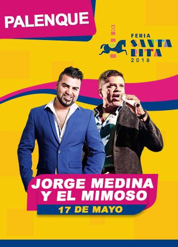 Jorge Medina y el Mimoso en la Feria Santa Rita 2018