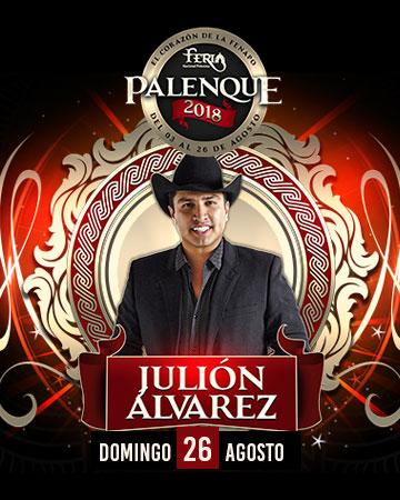 Julion Alvarez en el Palenque FENAPO 2018