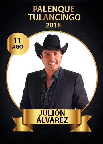Julion Alvarez en el Palenque Feria Tulancingo 2018