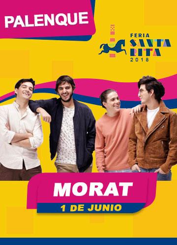 Morat en el Palenque Feria Santa Rita 2018
