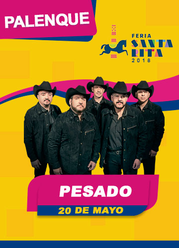 Pesado en el Palenque Feria Santa Rita 2018