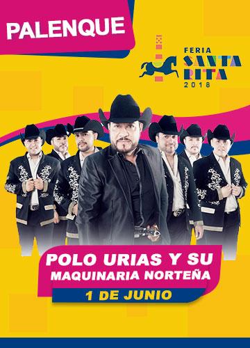 Polo Urias en el Palenque Feria Santa Rita 2018
