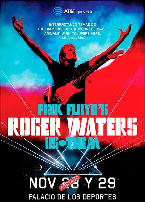 Roger Waters en el Palacio de los Deportes 2018