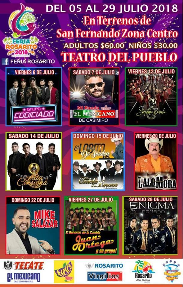 Teatro del Pueblo de la Feria Rosarito 2018
