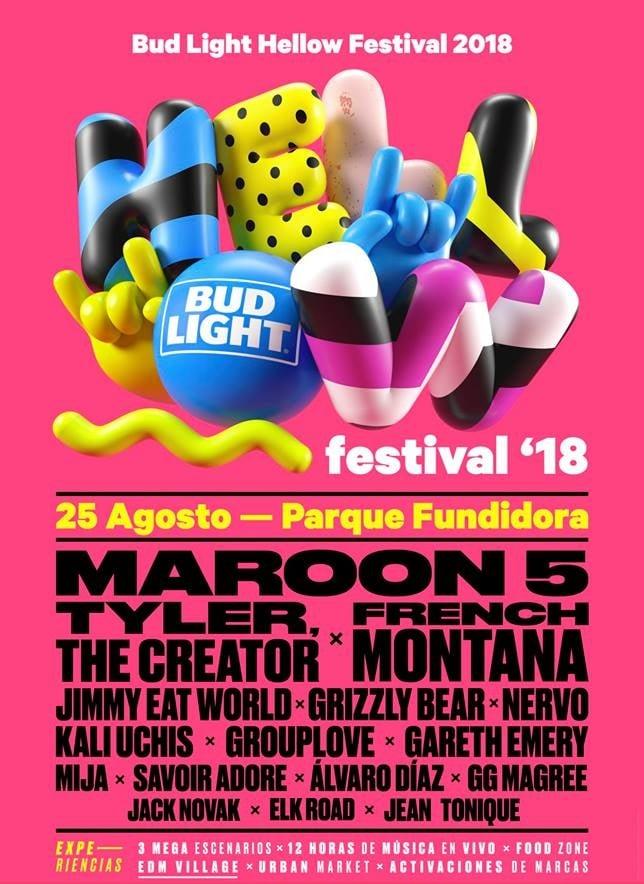 Artistas del Hellow Festival 2018
