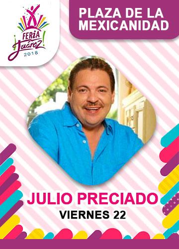 Julio Preciado en la Feria Juarez 2018