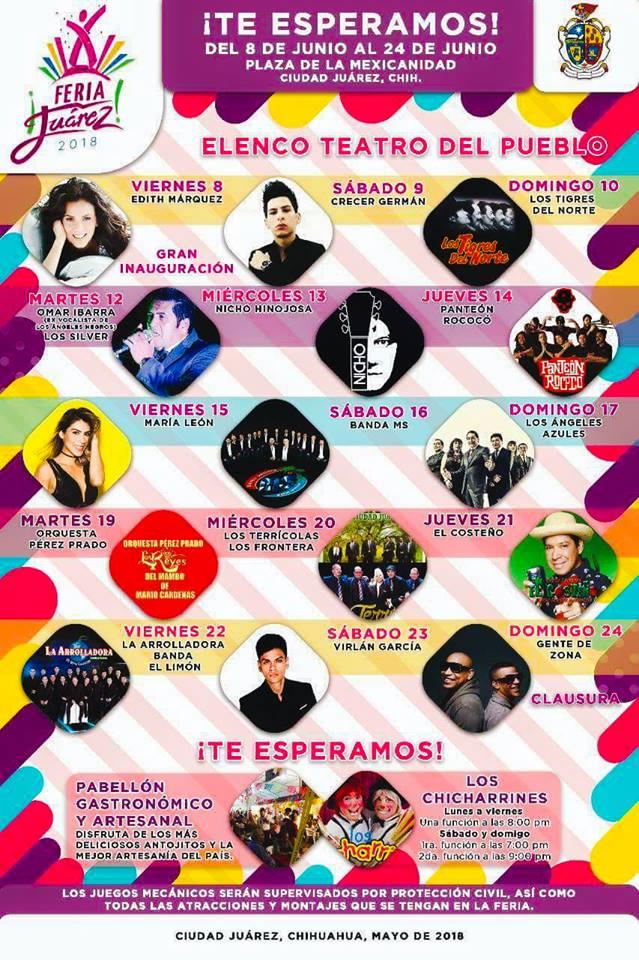 Teatro del Pueblo Feria Juarez 2018
