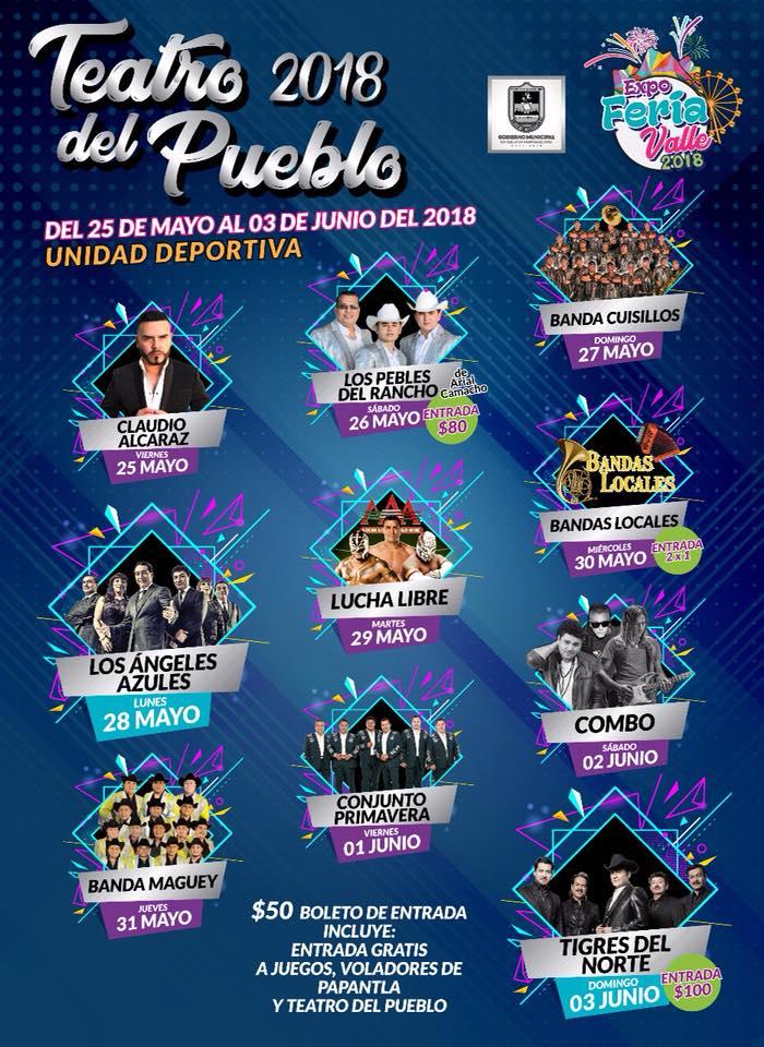 Teatro del Pueblo Feria Valle de Santiago 2018