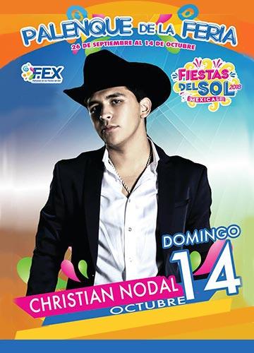 Christian Nodal en el Palenque Mexicali 2018