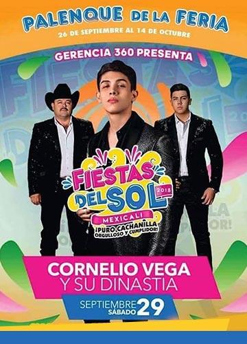 Cornelio Vega en el Palenque Mexicali 2018