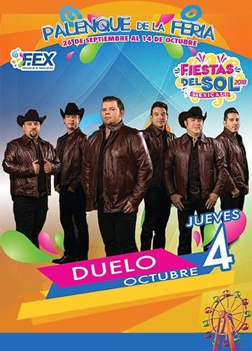 Grupo Duelo en el Palenque Mexicali 2018