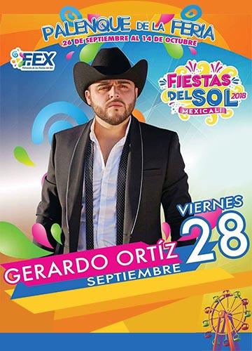 Gerardo Ortiz en el Palenque Mexicali 2018