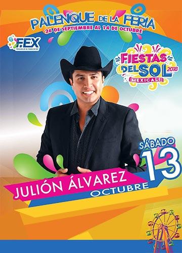 Julion Alvarez en el Palenque Mexicali 2018