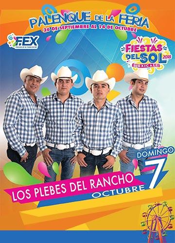 Los Plebes del Rancho en el Palenque Mexicali 2018