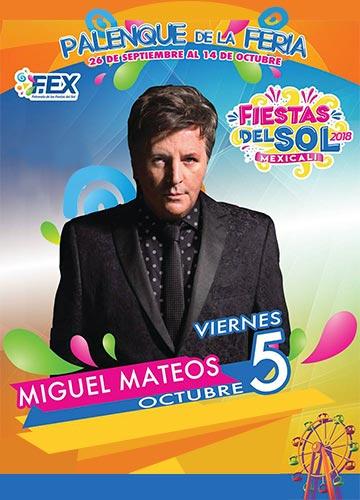 Miguel Mateos en el Palenque Mexicali 2018