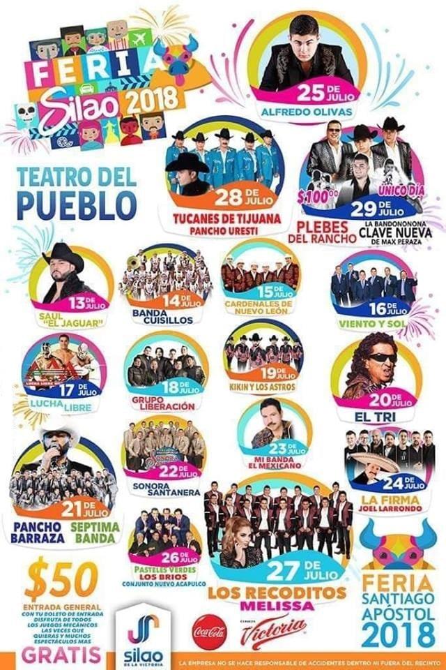 Teatro del Pueblo Feria Silao 2018