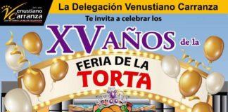 Feria de la Torta 2018 Venustiano Carranza