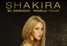 Shakira en el Estadio Azteca, El Dorado World Tour 2018