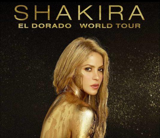 Shakira en el Estadio Azteca, El Dorado World Tour 2018