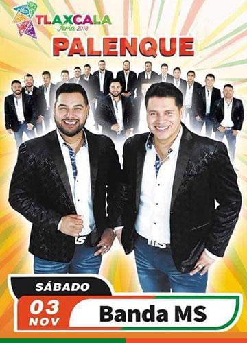 Banda MS en el Palenque Tlaxcala 2018