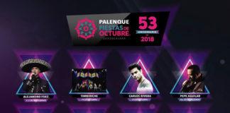 Palenque Fiestas de Octubre 2018