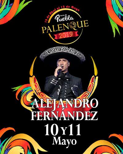 Alejandro Fernandez en el Palenque de Puebla 2019