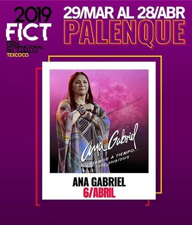 Ana Gabriel en el Palenque Texcoco 2019