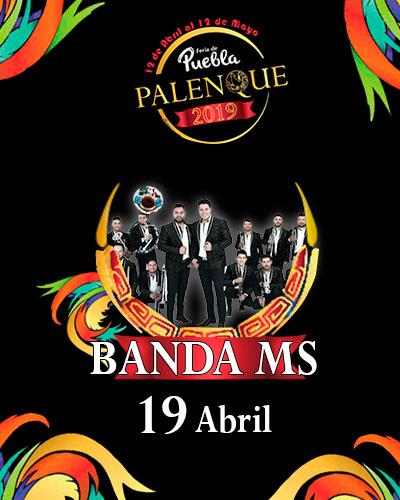 Banda MS en el Palenque de Puebla 2019