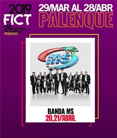 Banda MS en el Palenque Texcoco 2019