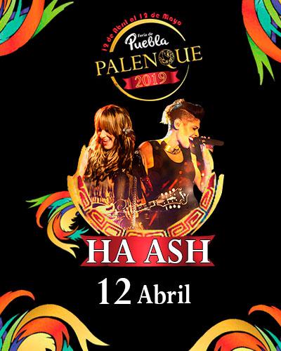 Ha-Ash en el Palenque de Puebla 2019