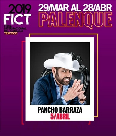 Pancho Barraza en el Palenque Texcoco 2019