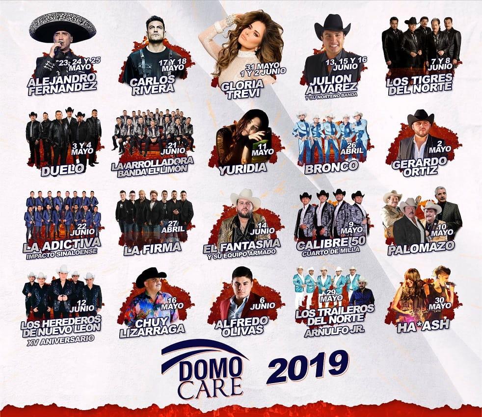 Cartelera Domo Care Feria Guadalupe 2019