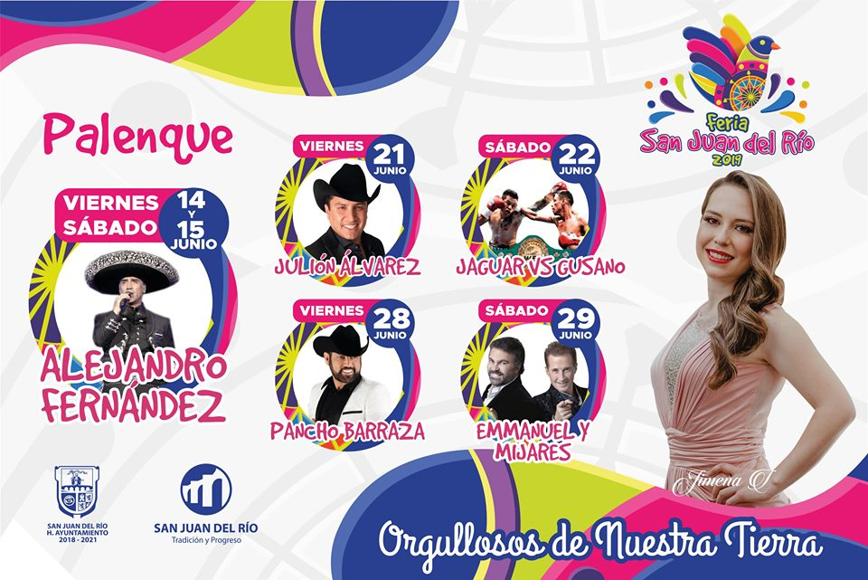 Palenque Feria San Juan del Rio 2019