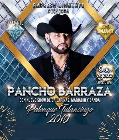 Pancho Barraza en el Palenque Tulancingo 2019