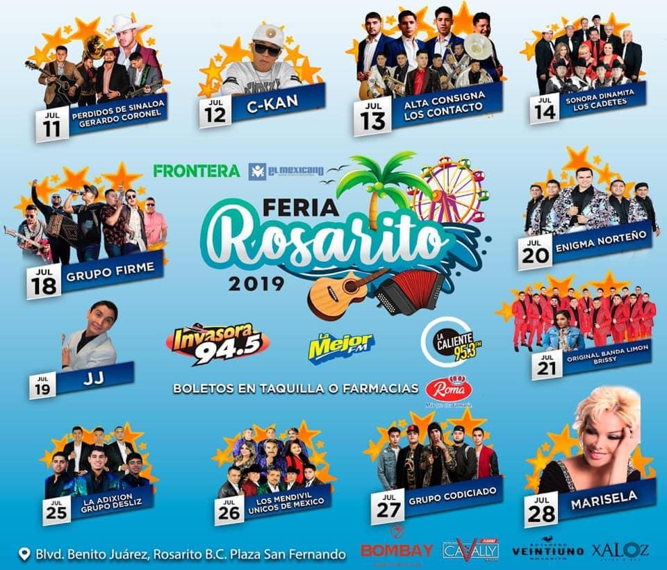 Teatro del Pueblo Feria Rosarito 2019