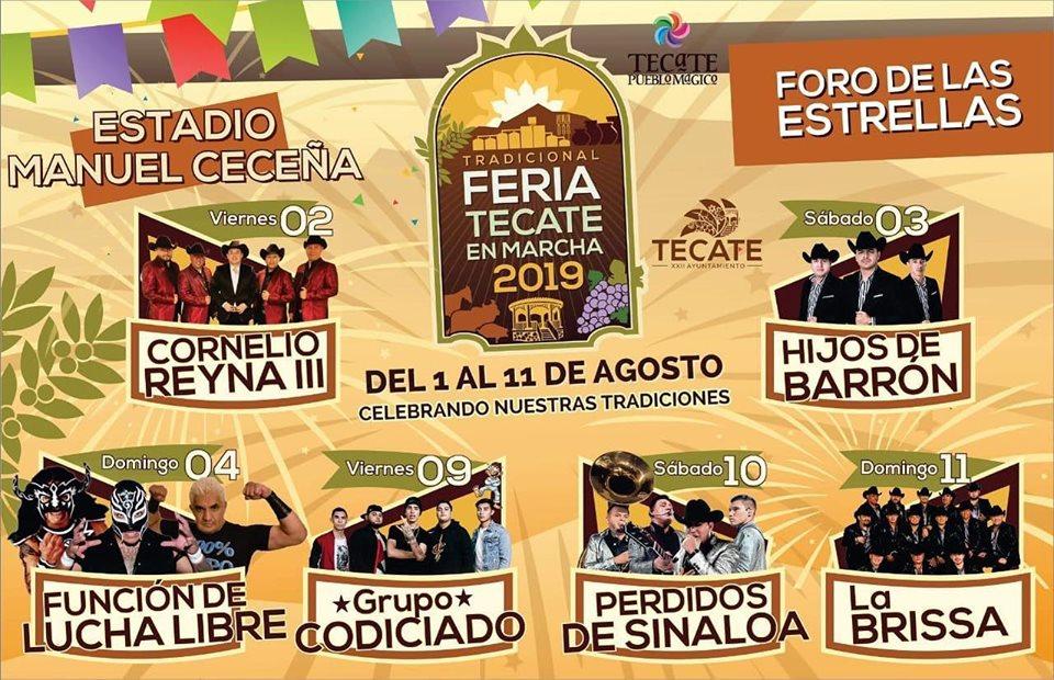 Foro de las Estrellas Feria Tecate 2019
