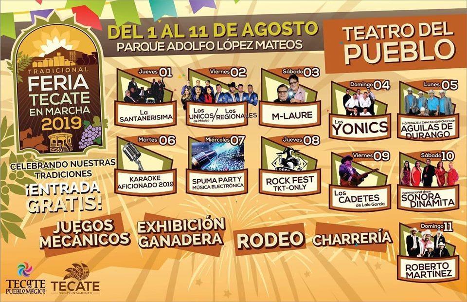 Teatro del Pueblo Feria Tecate 2019