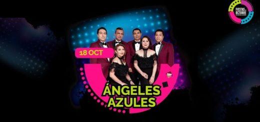Angeles Azules en Palenque Fiestas de Octubre 2019