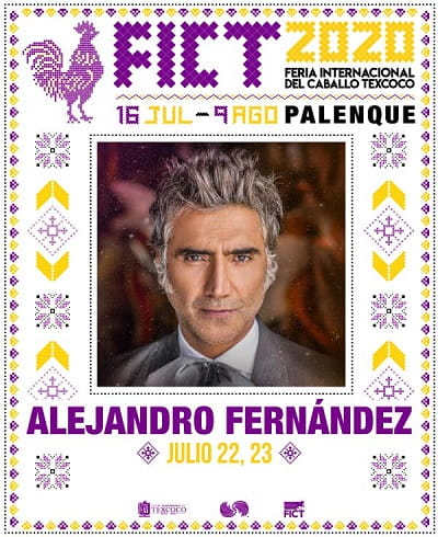 Alejandro Fernandez en el Palenque de la Feria Texcoco 2020