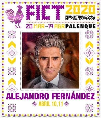 Alejandro Fernandez en el Palenque Texcoco 2020